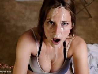 Cumshot Facial Fetish Strapon