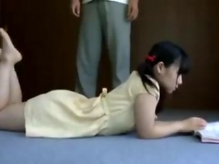 Asian Brunette Strapon Student Teen Vintage Young