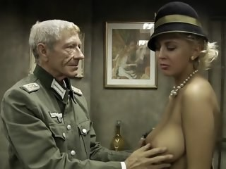 Army Big Tits Blonde