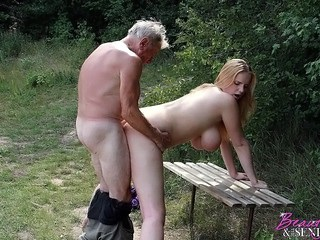 Amazing Big Tits Daddy Daughter Doggystyle Natural Old and Young Outdoor Strapon Teen Young