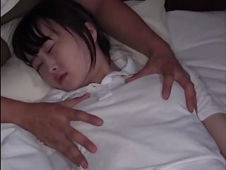 Asian Brunette Cute Sleeping Strapon Teen Young