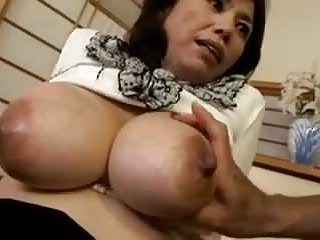 Asian Big Tits Japanese Mature Mom Natural Nipples