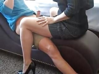Amateur Amazing Homemade MILF Riding Strapon