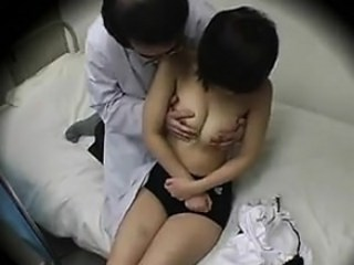 Asian Doctor MILF Strapon Voyeur
