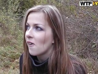 Girlfriend Outdoor Strapon Teen Young
