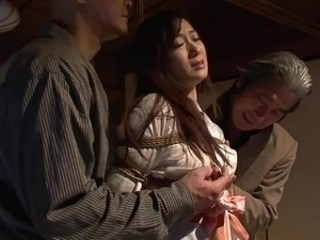 Asian Bondage Strapon Threesome Vintage