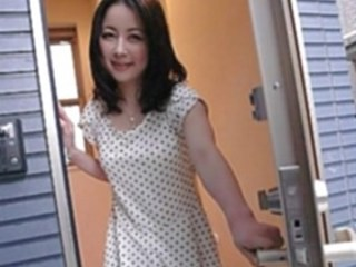 Asian Cute MILF Strapon Wife