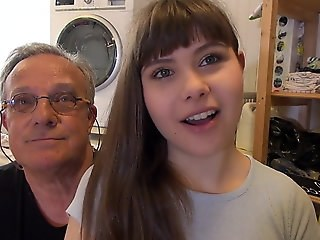 Cute Daddy Daughter Old and Young Strapon Teen Webcam Young