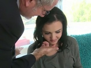 Brunette Cute Daddy Old and Young Strapon Teacher Teen Young