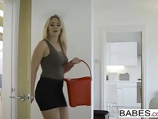 Amazing Blonde Cute MILF Pornstar Skirt Strapon