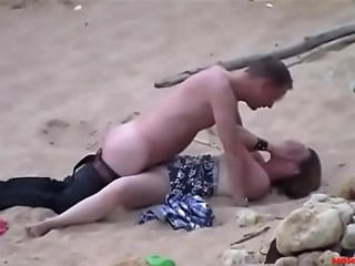 Beach Girlfriend Hardcore Outdoor Voyeur
