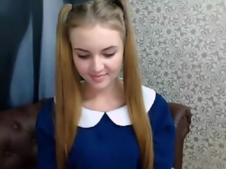 Amazing Cute Pigtail Strapon Stripper Teen Webcam Young