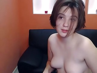 Brunette Cute Small Tits Solo Strapon Teen Webcam Young