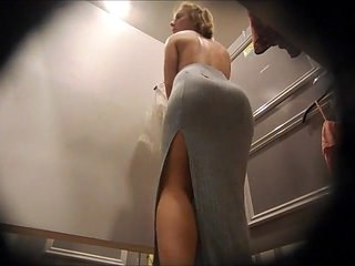 Ass HiddenCam MILF Voyeur