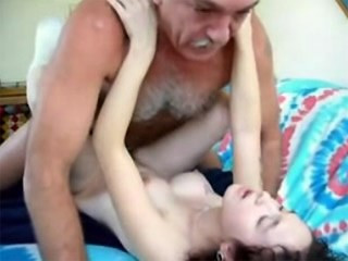 Daddy Daughter Hardcore Old and Young Strapon Teen Young