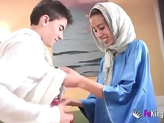 Arab Cute Strapon Teen Young