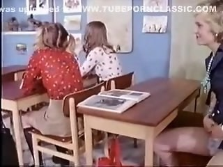 School Strapon Student Teen Vintage Young
