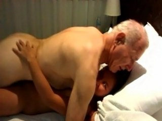 Amateur Daddy Interracial Old and Young Strapon Teen Young