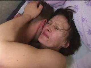 Hardcore Mature Mom Old and Young Strapon