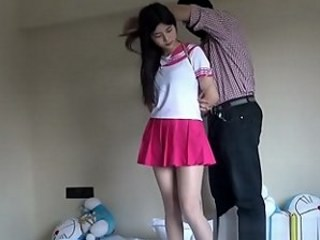 Asian Bondage Old and Young Skirt Strapon Teen Young