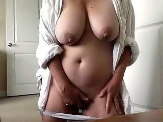 Big Tits Masturbating Mom Natural Strapon