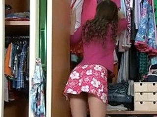 Sister Skirt Strapon Teen Young