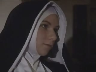 Nun Strapon Teen Uniform Vintage Young