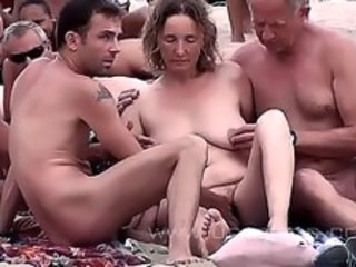 Amateur Mature Nudist Older Outdoor Public Strapon Wife