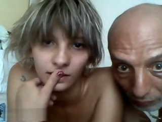 Daddy Daughter Family Old and Young Strapon Teen Webcam Young