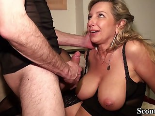 Big Tits Blonde Mature Natural Nipples Piercing Strapon