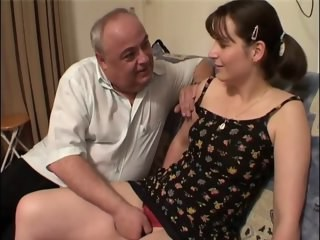 Daddy Daughter Old and Young Strapon Teen Young
