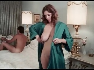 Amazing Big Tits MILF Natural Strapon Vintage Wife