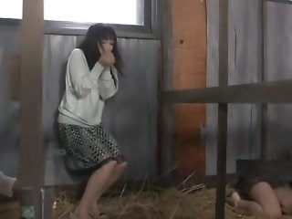 Asian Farm MILF Strapon Vintage