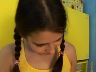 Pigtail Sister Strapon Teen Young