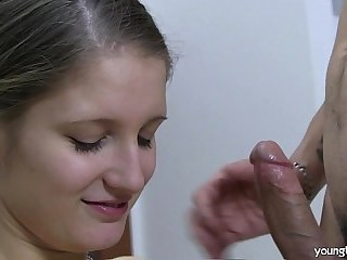 Blowjob Girlfriend Strapon Teen Young