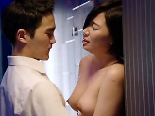 Amazing Asian Cute MILF Natural Strapon