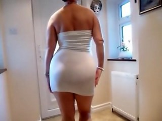 Amateur Ass Homemade MILF Strapon Wife