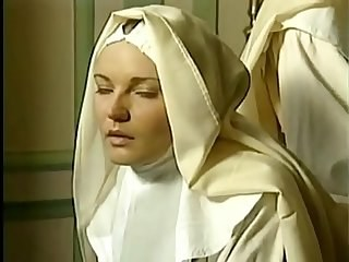 MILF Nun Threesome Uniform Vintage