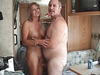 Amateur Homemade Mature Older Strapon Wife