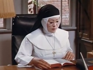 Glasses Mature Nun Strapon Uniform