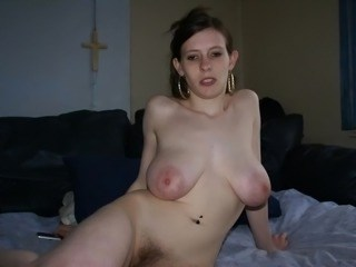 Amateur Amazing Big Tits Cute Hairy Homemade MILF Natural Nipples SaggyTits Strapon
