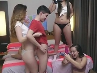 Groupsex Strapon Student Teen Young