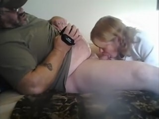 Amateur Blowjob Clothed Daddy Homemade Small cock Strapon