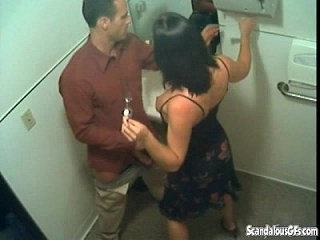 Girlfriend MILF Strapon Toilet Voyeur