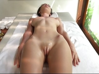 Amazing Massage Pussy Shaved Strapon Teen Young