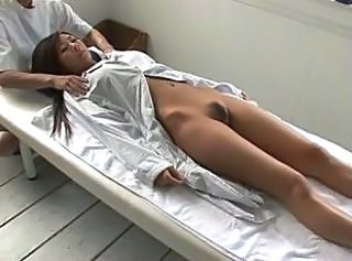 Asian Massage MILF Strapon