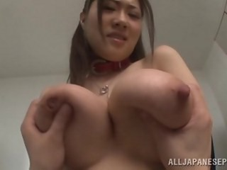 Amazing Asian Big Tits Japanese MILF Natural Nipples Pornstar Strapon