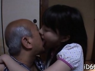 Asian Daddy Daughter Old and Young Strapon Teen Young