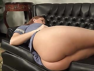 Amazing Ass Sleeping Strapon Teen Young