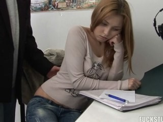 Strapon Student Teacher Teen Young